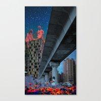 the built environment Canvas Print