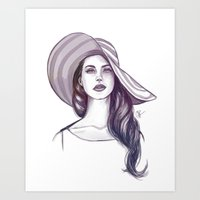 Shades of Cool Art Print