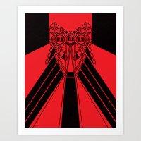 Power Wolf Art Print