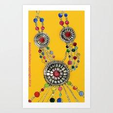 My favourite necklace Art Print
