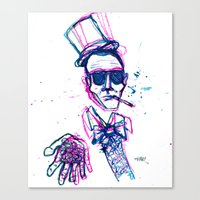 hunter s. wonka Canvas Print