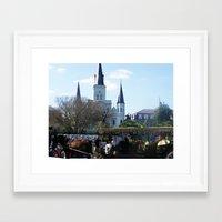 New Orleans Castle Framed Art Print