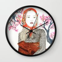 Country Girl Wall Clock