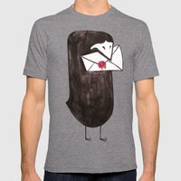 For You... Mens Fitted Tee Tri-Grey SMALL