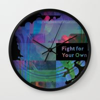 Fight For Your Own Wall Clock