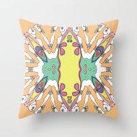 Caleidoscópicas [1] Throw Pillow