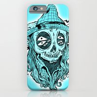 iPhone & iPod Case featuring scared crow by mark kowalchuk