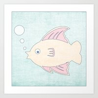 Fish - Under The Sea Ser… Art Print