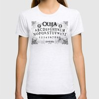 Ouija (Gravedigger) Womens Fitted Tee Ash Grey SMALL