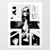 FAULT Art Print