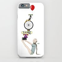 iPhone & iPod Case featuring What? III by Katy Davis