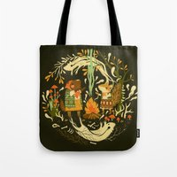 Animal Chants & Forest Whispers Tote Bag