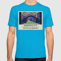 Undercity Classic Rail P… Mens Fitted Tee Teal SMALL