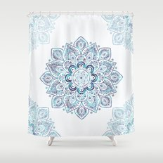 Icy Cold Outside Shower Curtain