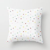 Pin Point New Throw Pillow