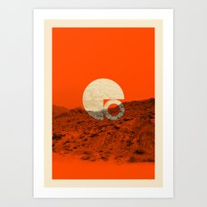 Symbol of Chaos Art Print