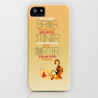 iPhone & iPod Case featuring Stronger, Braver, Smarte… by Studiomarshallarts
