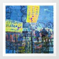 For when the segmentation resounds, abundantly. 11 Art Print