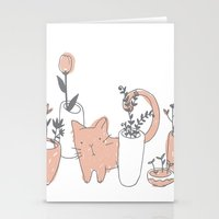 Fatty Cat Stationery Cards