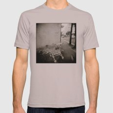{ lost } Mens Fitted Tee Cinder SMALL