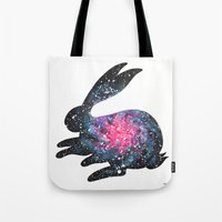 Astral Bunny 1 Tote Bag