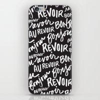 Bonjour Au Revoir iPhone & iPod Skin
