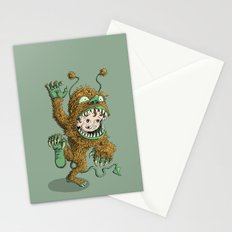 Monster Inside Stationery Cards