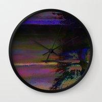 19-46-12 (Black Hole Gli… Wall Clock