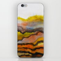 Watercolor abstract landscape 26 iPhone & iPod Skin