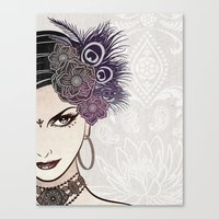 Belly Dance Canvas Print