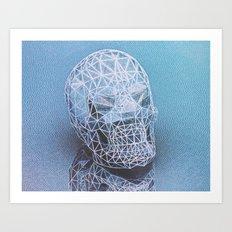 irradiantskull Art Print