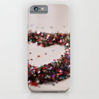 iPhone & iPod Case featuring Glitter Heart by Nur Simsek