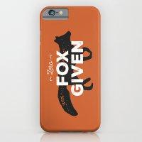 Zero Fox Given iPhone 6 Slim Case