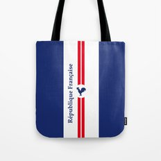 France, French Flag Vintage Art Print Poster Decoration Tote Bag