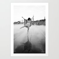 La Dernière Danse Art Print