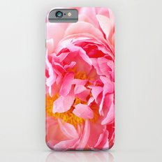 Peonies Forever II iPhone 6 Slim Case