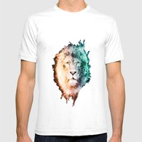 In The Jungle Mens Fitted Tee White SMALL