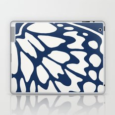 Butterfly Wings: Dusty Blue Laptop & iPad Skin