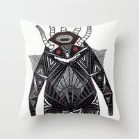 B E A K  Throw Pillow