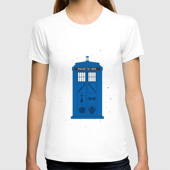 The Tardis Got Some Ink T-shirt