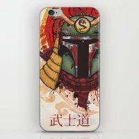 Bushido: Bobafetto iPhone & iPod Skin