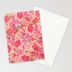 Chinese New Year Flowers Stationery Cards