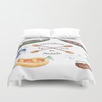 Adventures By Sail Or Pa… Duvet Cover