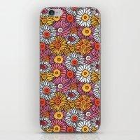Daisy Pattern iPhone & iPod Skin