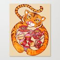 Tiger's Tea Canvas Print