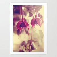 Dream In Fushia Art Print