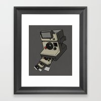 Cam-ception (continuous … Framed Art Print