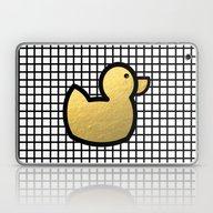 Anka - Grid Rubber Duck … Laptop & iPad Skin