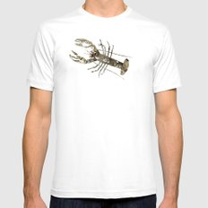 lobster in paris White Mens Fitted Tee SMALL