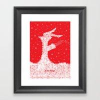 F Is For Fargo Framed Art Print
